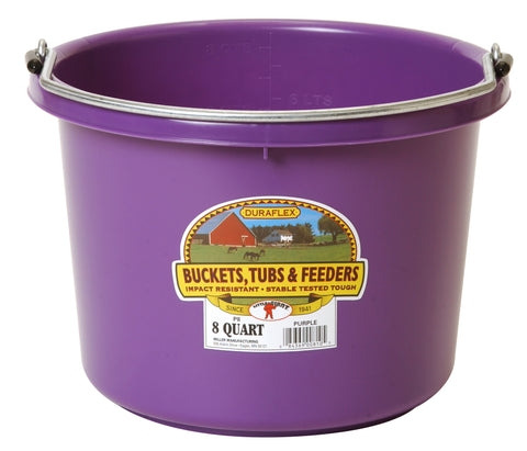Plastic Bucket - 8 Quart