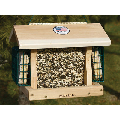 Premier Cedar Feeder with Suet Cages