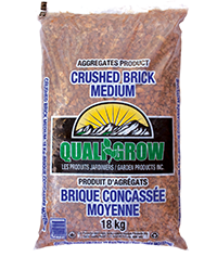 Crushed Brick - Large  1""