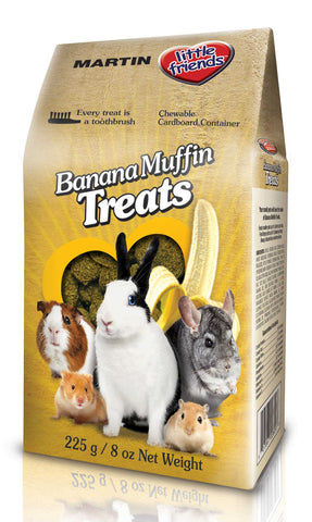 MARTIN Banana Muffin Rabbit Treats 225g