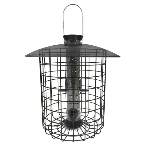 Sunflower Domed Cage Feeder- Black (SDC-B)