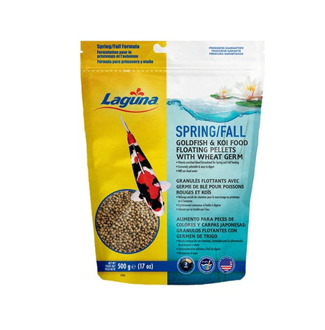 Laguna Spring & Fall Floating Food with Wheat Germ - 500 g
