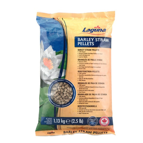 Laguna Barley Straw Pellets with Mesh Bag - 1.13 kg (2.5 lb) - Treats 4730 L (1,250 US gal.)