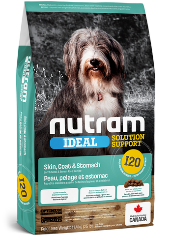 I20 Nutram Ideal Solution Support®- Lamb Meal & Brown Rice Recipe