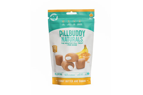 Pill Buddy Naturals Peanut Butter and Banana 150g/30 Treats
