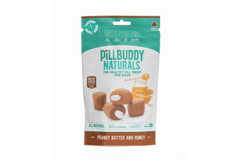 Pill Buddy Naturals Peanut Butter and Honey 150g/30 Treats