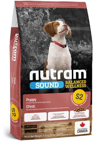 S2 Nutram Sound Balanced Wellness® Puppy Food