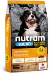 S3 Nutram Sound Balanced Wellness® Large Breed Puppy Food