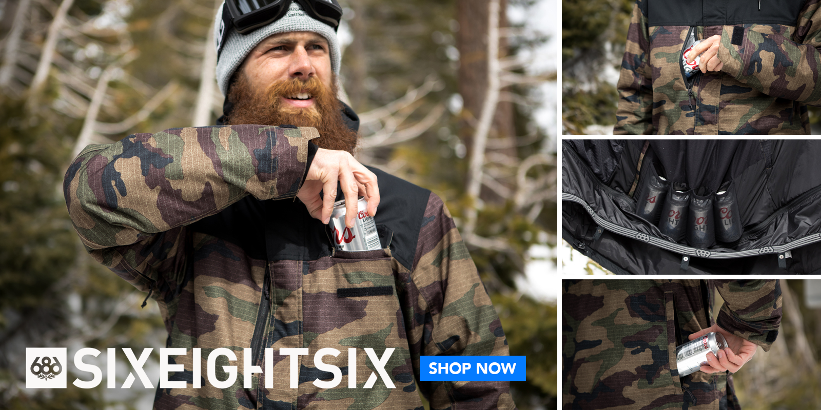 686 Snowboard Jacket - Online Snowboard Apparel Store - Freeride Boardshop