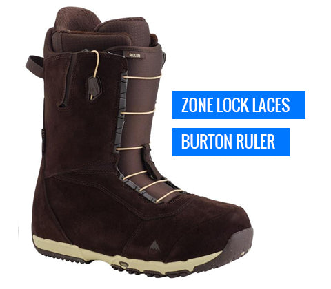 Burton Snowboard Boot - Zone Lock Laces - Buy Online Canada Freeride Boardshop