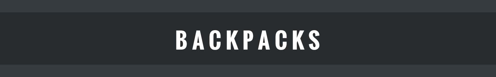Backpacks banner