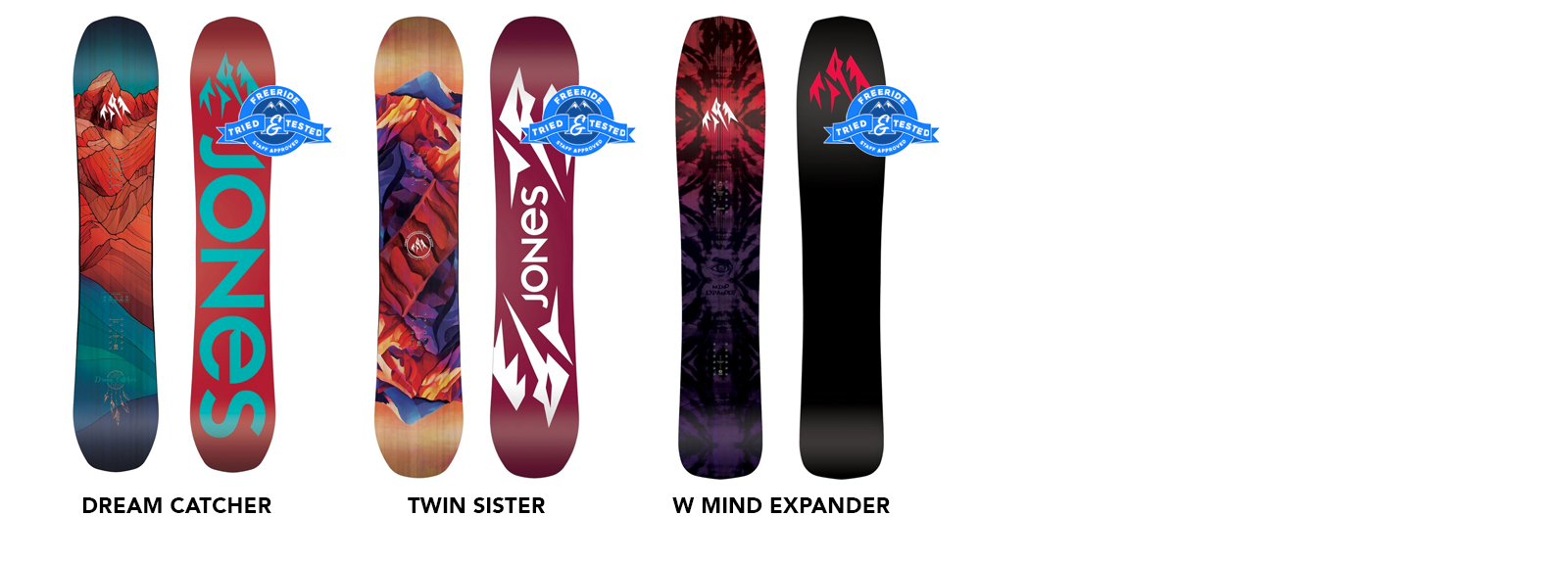 Buy 2019 Jones Women's Snowboards Online in Canada - Freeride Boardshop