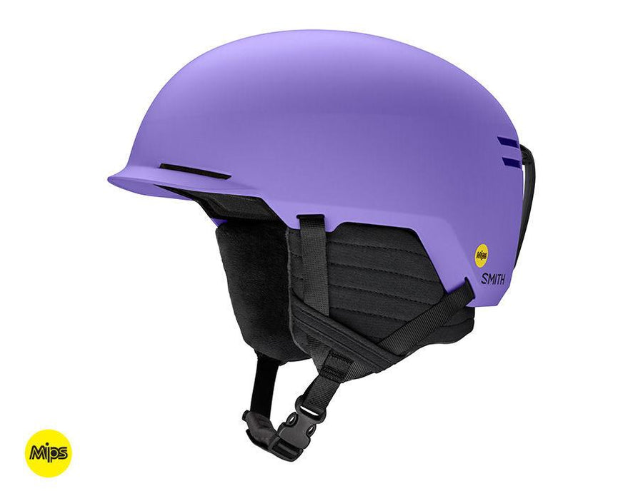 SMITH Scout Jr. MIPS Kids Snow Helmet Matte Purple 2020 SNOWBOARD ACCESSORIES - Youth Snowboard Helmets Smith