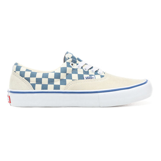86fa364663 VANS Era Pro Checkerboard Classic White  Blue Ashes Shoes