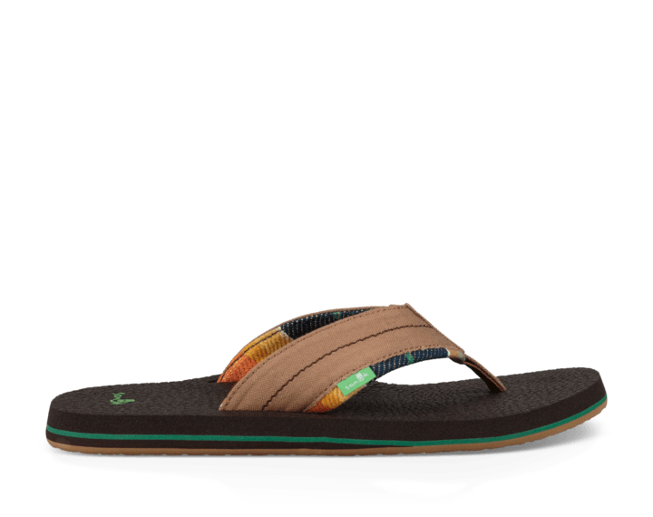 SANUK Beer Cozy 2 TX Sandals Tan/ Blanket