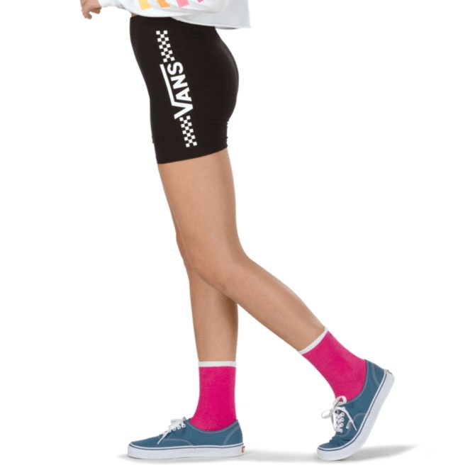 VANS Funnier Times Bike Shorts Women's Black WOMENS APPAREL - Women's Walkshorts Vans