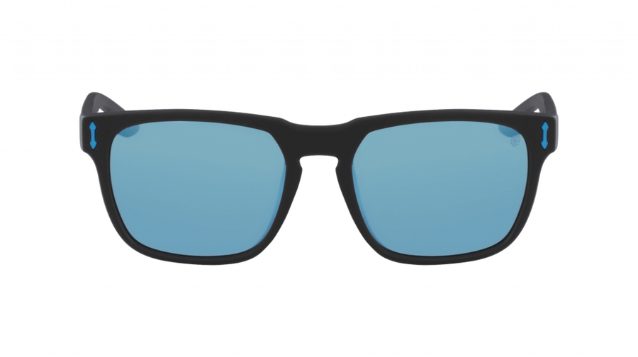 DRAGON Monarch Matte Black H2O - Lumalens Sky Blue Ion Polarized Sunglasses