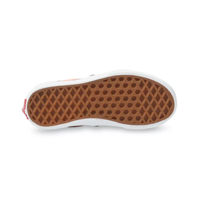 VANS Classic Slip-On Kids Shoes Salmon/True White Checkerboard FOOTWEAR - Youth and Toddler Skate Shoes Vans