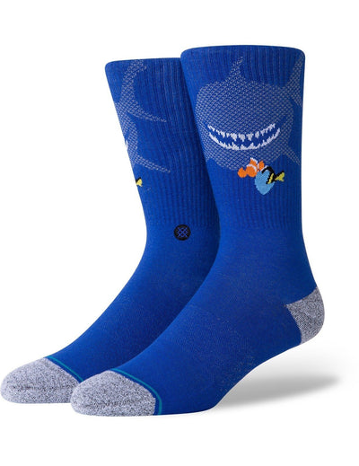 STANCE Finding Nemo Pixar Socks Blue MENS ACCESSORIES - Men's Socks Stance