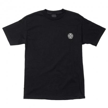 INDEPENDENT Truck Co. Embroidery T-Shirt Black MENS APPAREL - Men's Short Sleeve T-Shirts Independent S