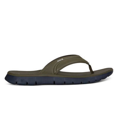 HURLEY Fusion 2.0 Sandals Olive Canvas FOOTWEAR - Men's Sandals Hurley