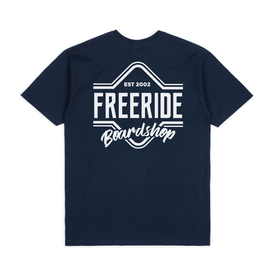 FREERIDE Slalom T-Shirt Navy