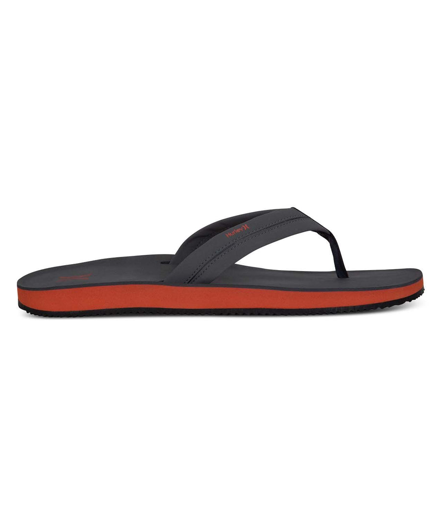 HURLEY Lunar Sandals Dark Grey FOOTWEAR - Men's Sandals Hurley