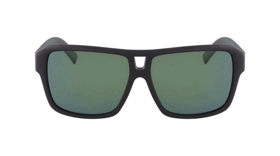DRAGON The Jam Matte Black H2O - Lumalens Petrol Ion Polarized Sunglasses SUNGLASSES - Dragon Sunglasses Dragon