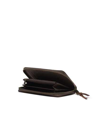 HERSCHEL Thomas Wallet Brown Nubuck Leather WOMENS ACCESSORIES - Women's Wallets Herschel Supply Company