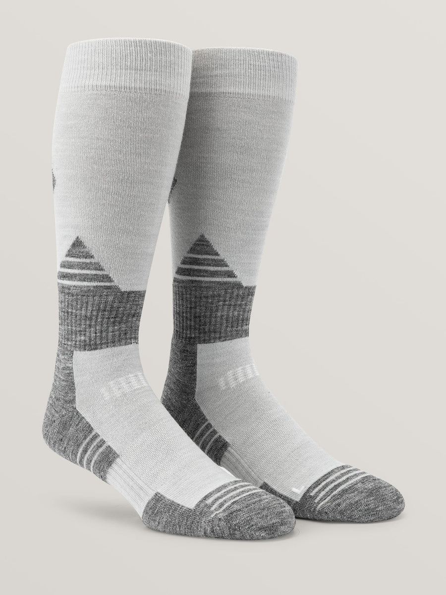 VOLCOM Kootney Snow Socks White