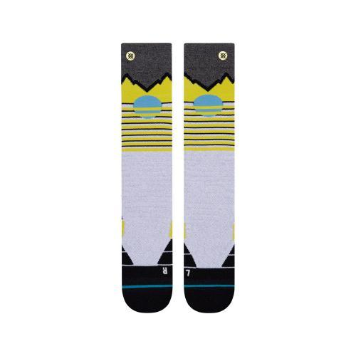 STANCE Dawn Patrol 2 Snow Socks Lime SNOWBOARD ACCESSORIES - Men's Snowboard Socks Stance