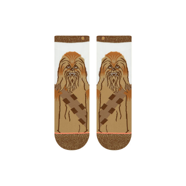 STANCE Chewbacca Monofilament Socks Women's Brown