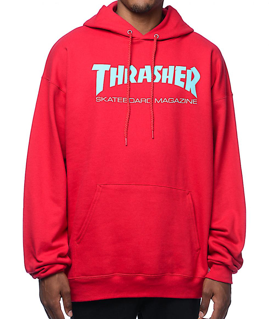 THRASHER Skate Mag Pullover Hoodie Red