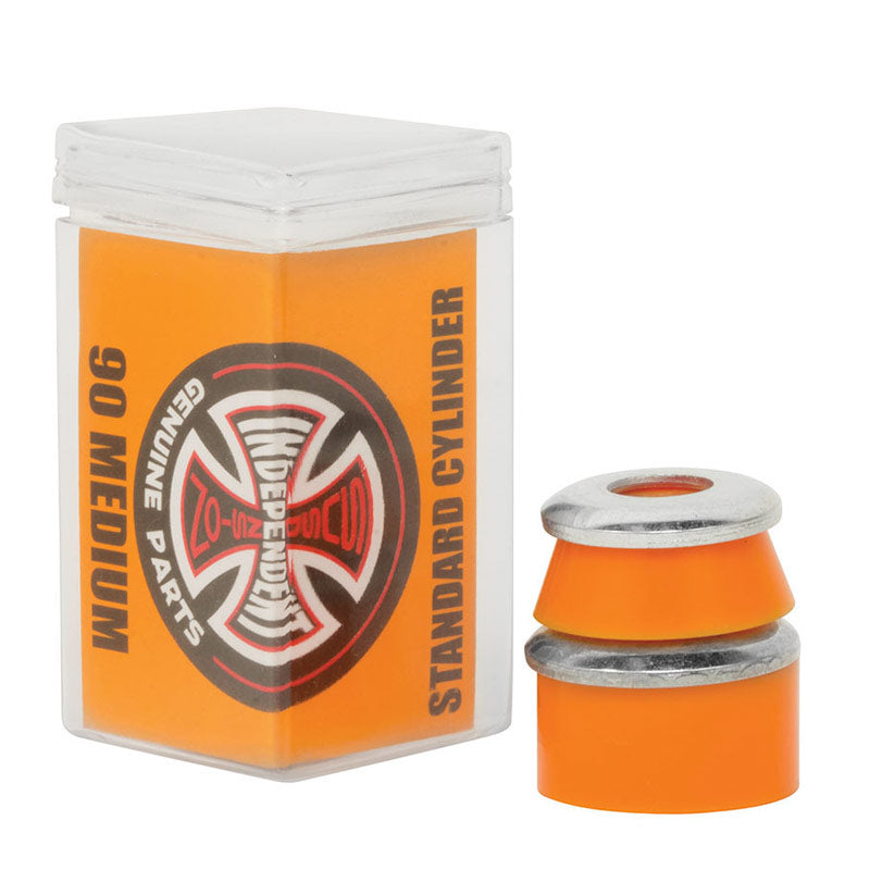 INDEPENDENT Standard Cylinder Medium Orange Skateboard Bushings