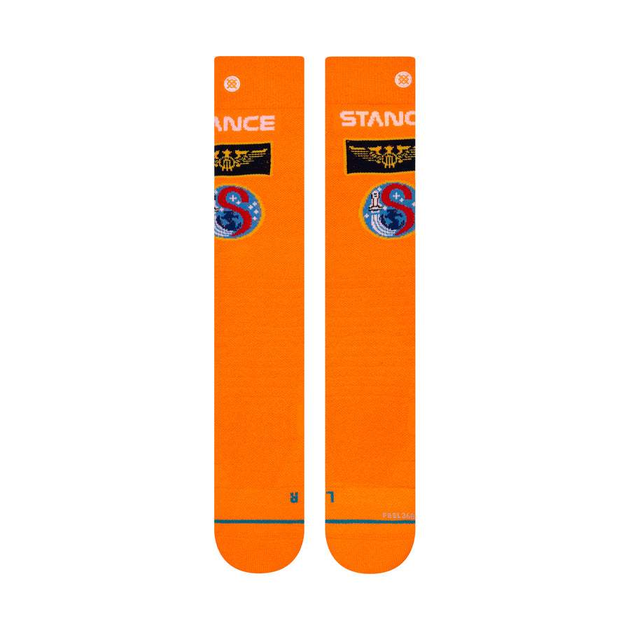 STANCE Launch Pad Snow Socks Orange