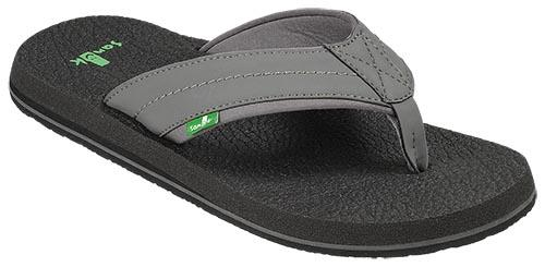 SANUK Beer Cozy 2 Sandals Charcoal FOOTWEAR - Men's Sandals Sanuk 10