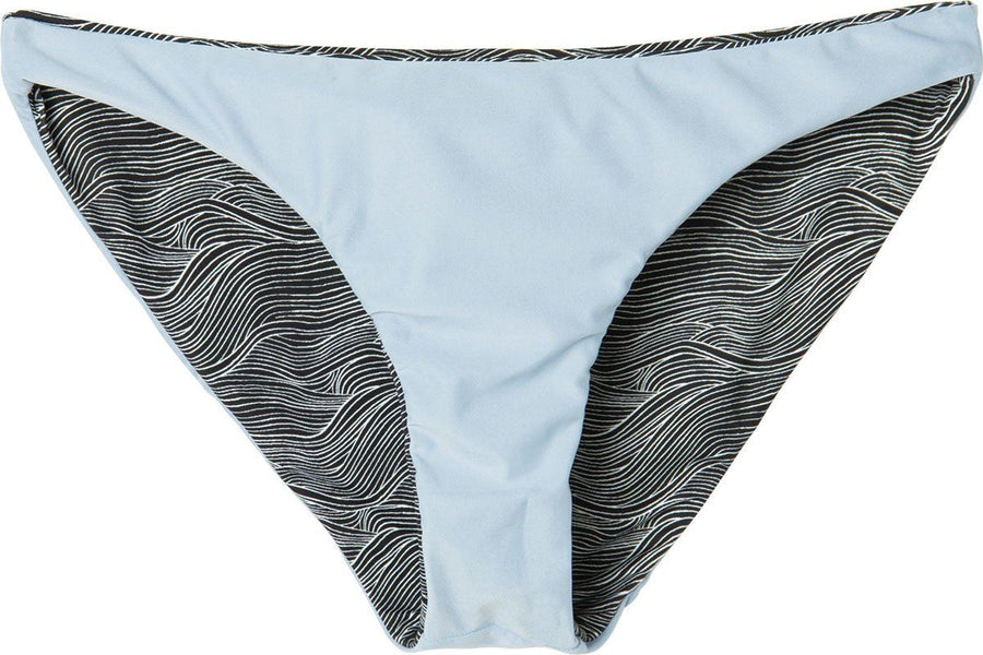RVCA Mahina Hi Tide Full Reversible Bikini Bottoms WOMENS APPAREL - Women's Swimwear Bottoms RVCA