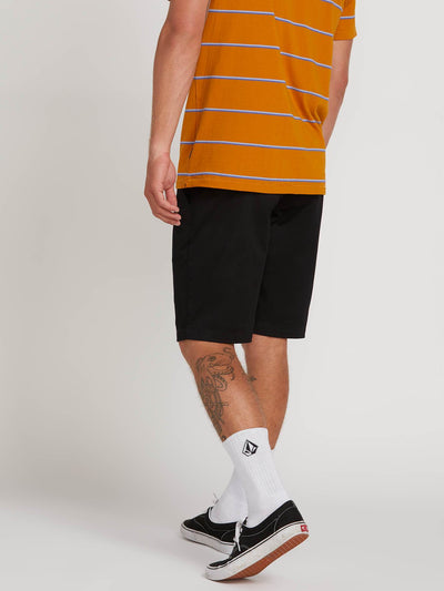 VOLCOM Frickin Mod Stretch Shorts Black