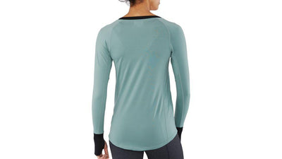 DAKINE Lupine Light Weight Top Women's Coastal/Black 2019 WOMENS OUTERWEAR - Women's Base Layer Dakine