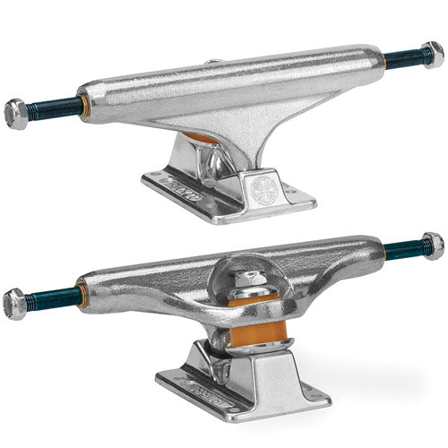 INDEPENDENT Forged Titanium 139 Silver Skateboard Trucks