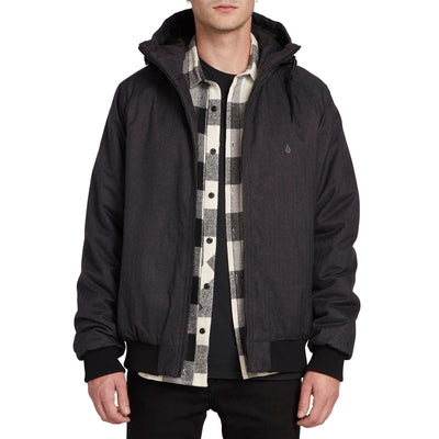 VOLCOM Hernan Coaster 5K Jacket Black MENS APPAREL - Men's Street Jackets Volcom