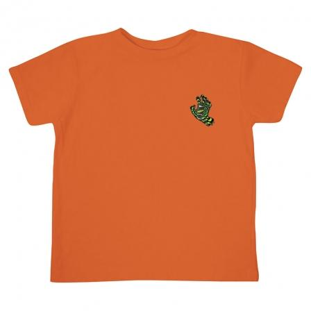 SANTA CRUZ Kaleidohand T-Shirt Toddler Orange KIDS APPAREL - Toddler Short Sleeve T-Shirts Santa Cruz