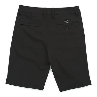 VANS Authentic Decksider Hybrid Shorts Boys Black KIDS APPAREL - Boy's Hybrid Shorts Vans