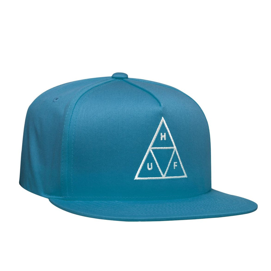 HUF Triple Triangle Snapback Hat Biscay Bay