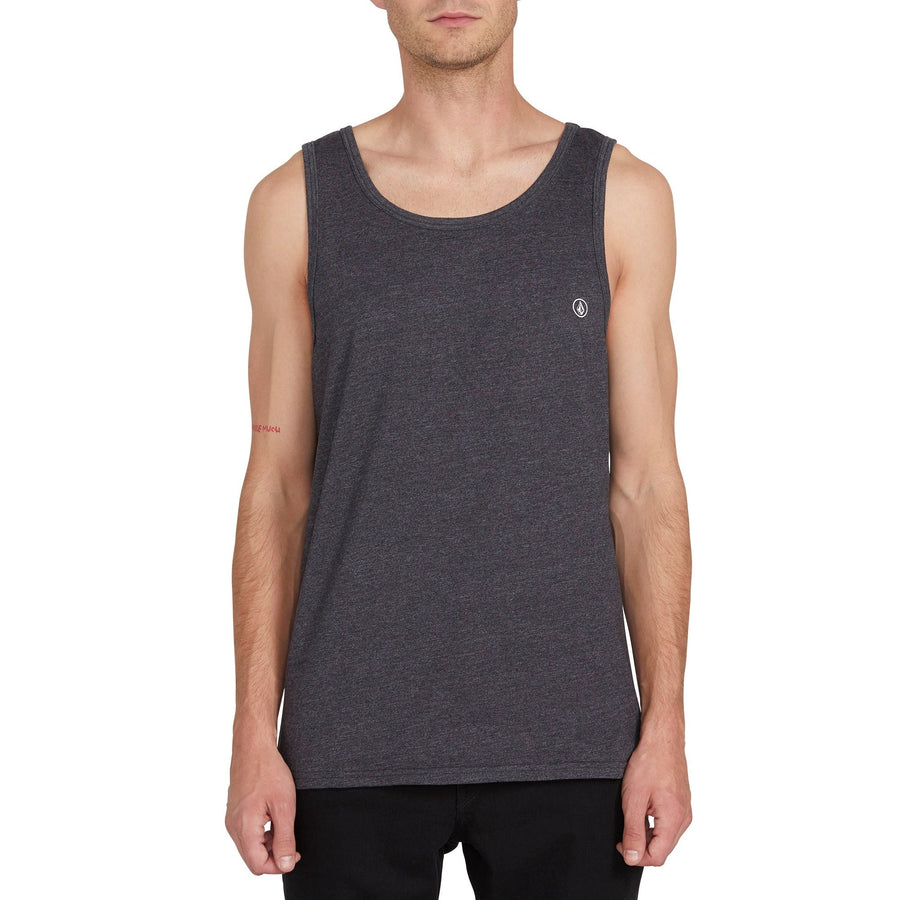 VOLCOM Solid Heather Tank Heather Black