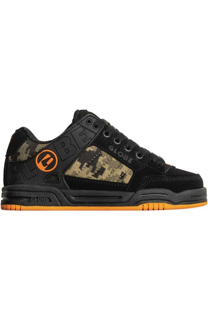 GLOBE Tilt Shoes Kids Black/Camo/Orange