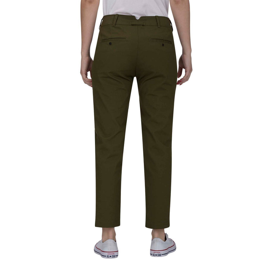 HURLEY Lowrider Chino Pants Women's Olive Canvas