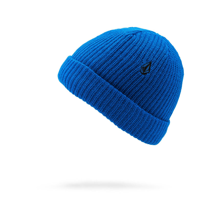 VOLCOM Sweeplined Beanie Youth Cyan Blue KIDS APPAREL - Boy's Beanies Volcom