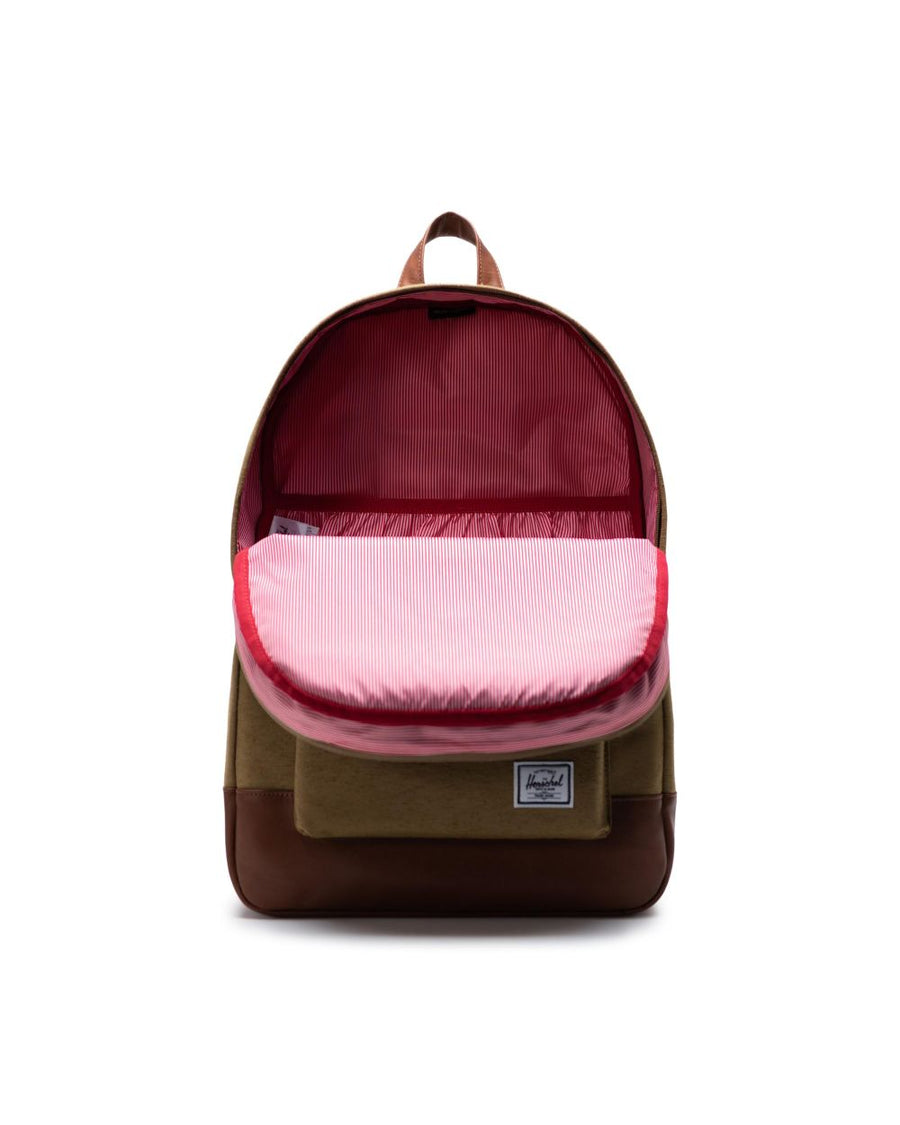 HERSCHEL Heritage Backpack Coyote Slub ACCESSORIES - Street Backpacks Herschel Supply Company