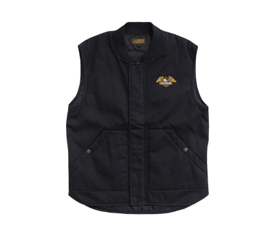LOSER MACHINE Condor II Vest Dusty Black MENS APPAREL - Men's Street Jackets Loser Machine M